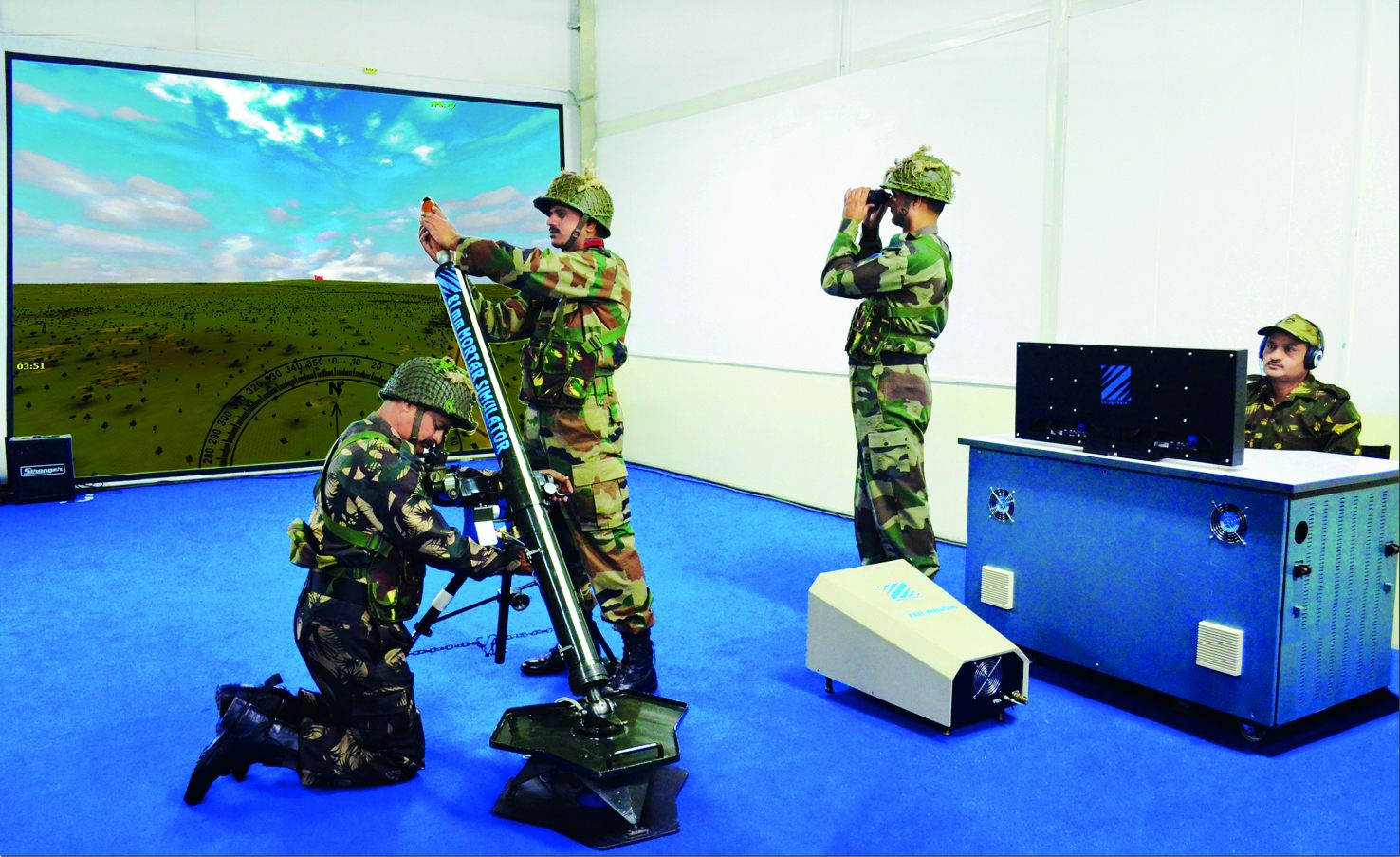 81mm Mortar Integrated Training Simulator (Zen 81mm MIS)