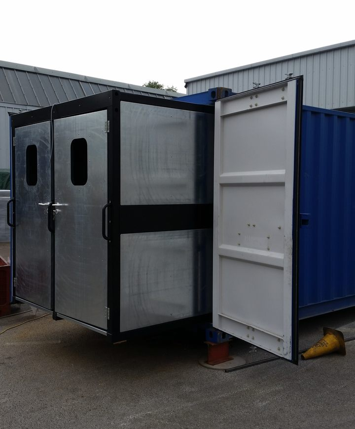 Containerised Tubular Shooting Range (Zen CTSR)