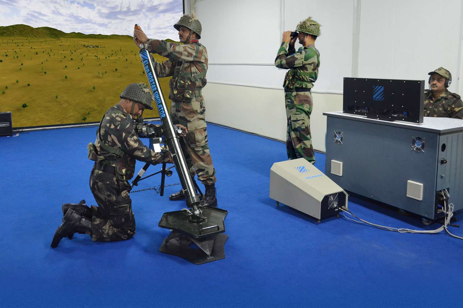 81mm Mortar Integrated Training Simulator (81mm MIS)