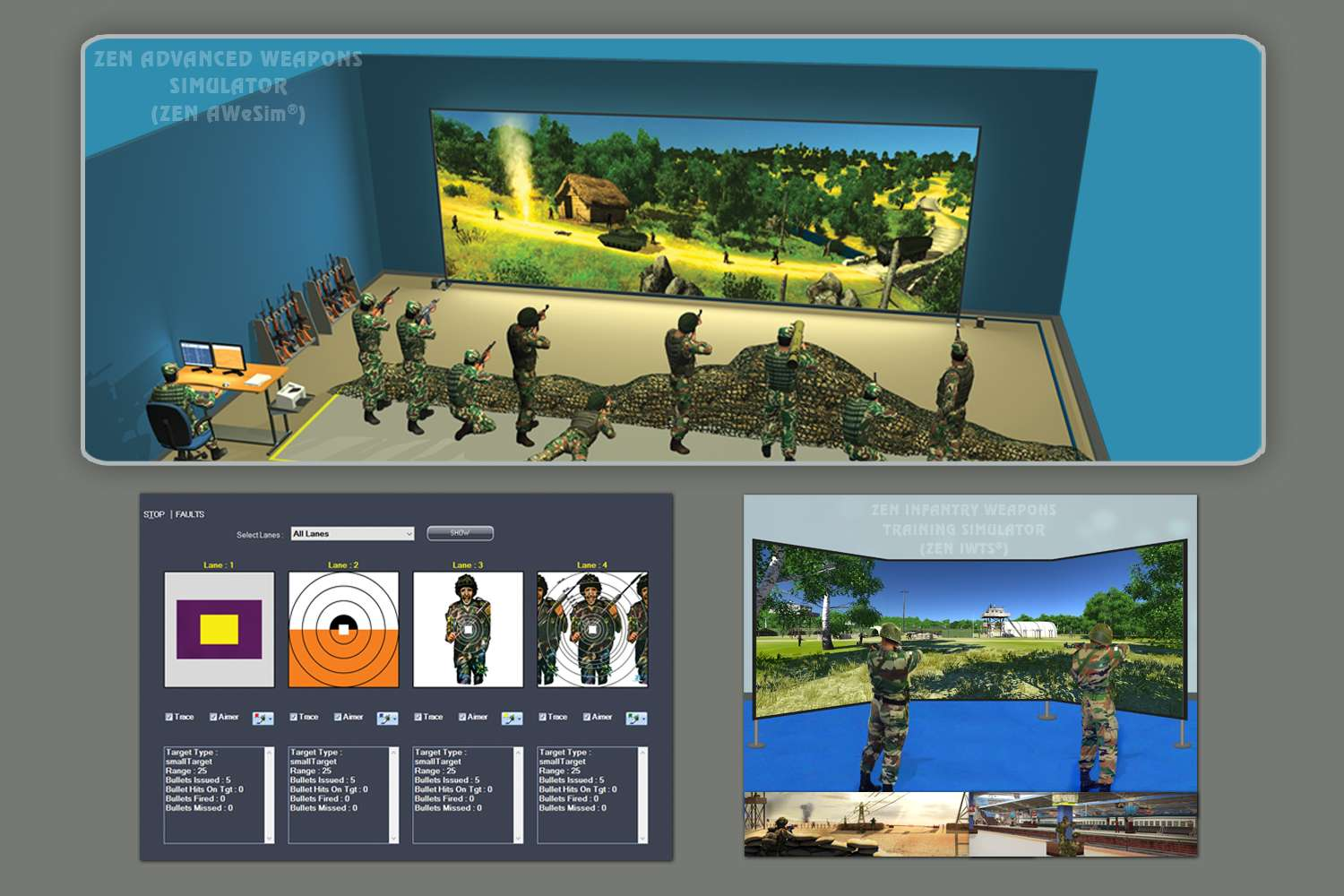 Advanced Weapons Simulator (AWeSim®) - Firearms Training Simulator