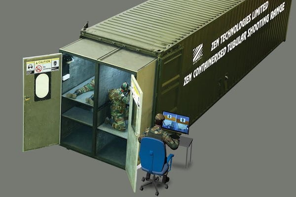 Zen CTSR - Containerised Tubular Shooting Range