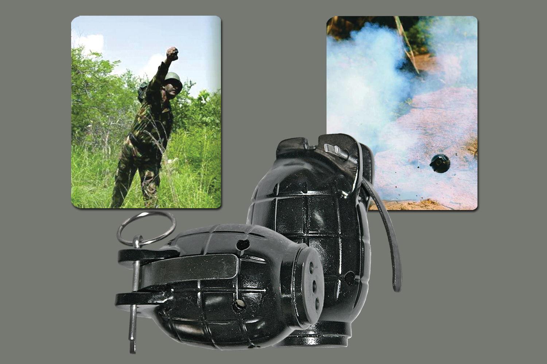 Hand Grenade Simulator (HE36S®)