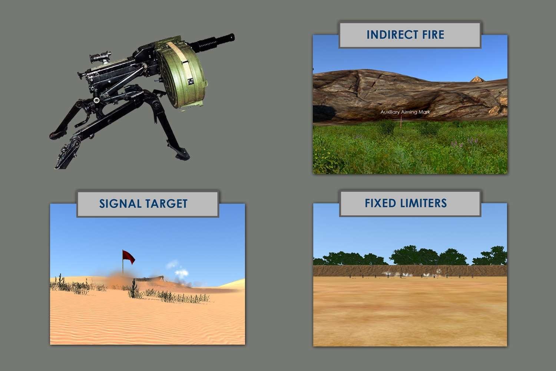 Automatic Grenade Launcher Simulator (AGL Sim)