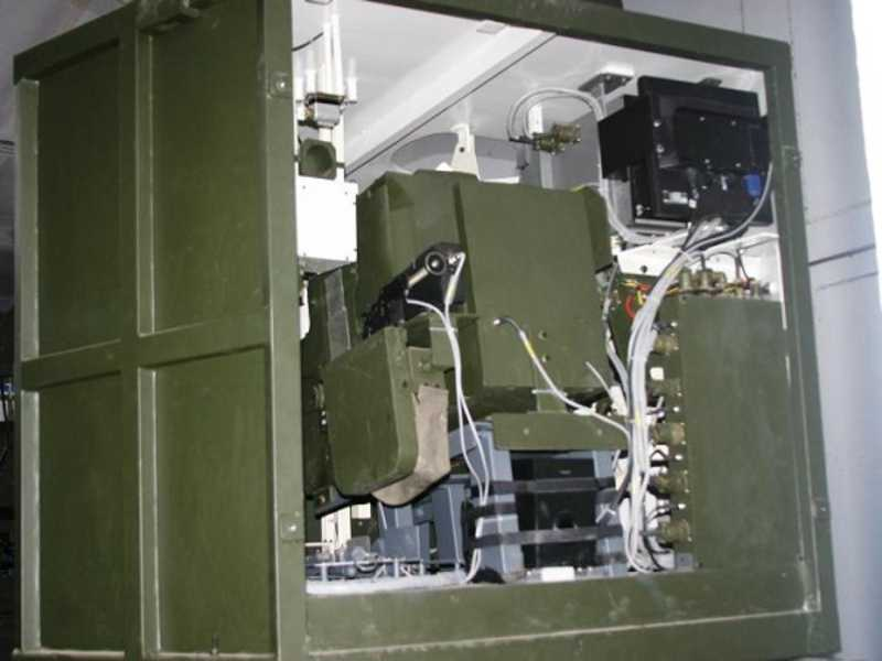 Gunnery Simulator for T-72 Tank