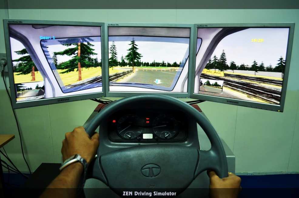 Driving Simulator - realistic-driving-simulator