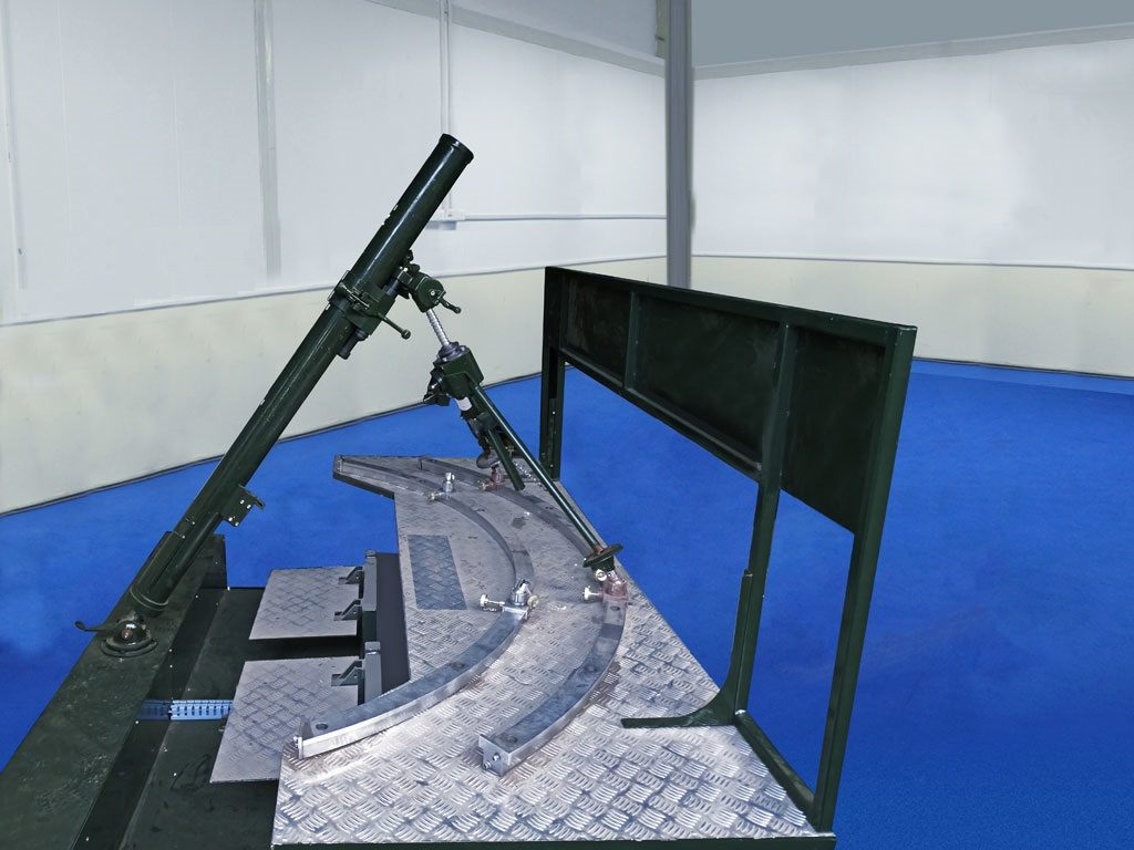 Virtual Simulation - Carrier Mortar Tracked Simulator (CMT Sim)