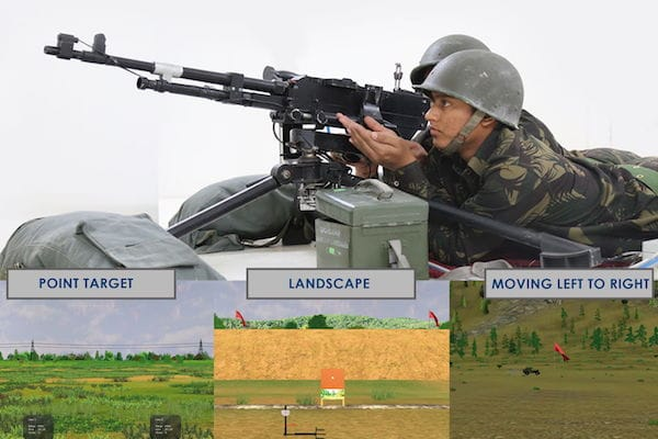Medium Machine Gun Simulator (MMG Sim)