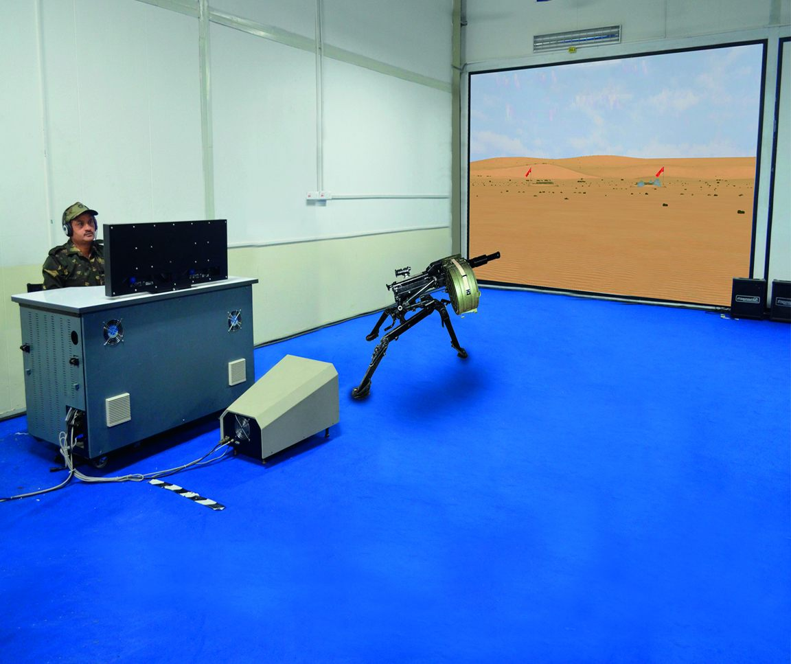Virtual Simulation - Automatic Grenade Launcher Simulator (AGL Sim)