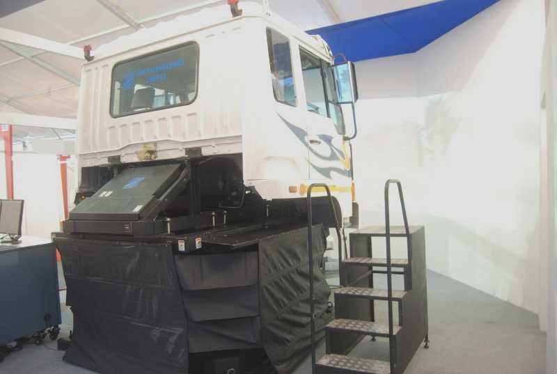 Truck-Driving-Simulator