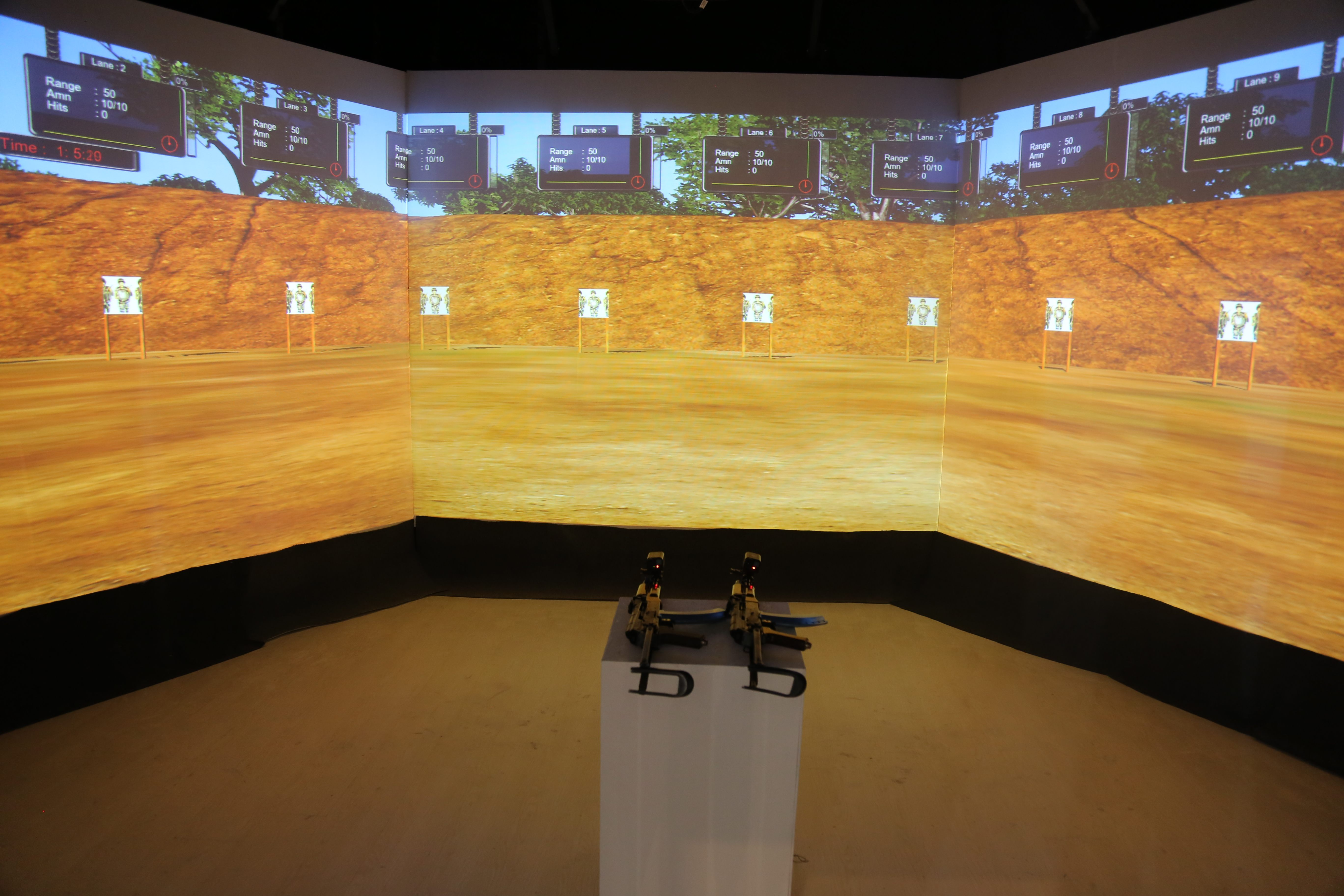 Virtual Simulation - Infantry Weapons Training Simulator (IWTS®)