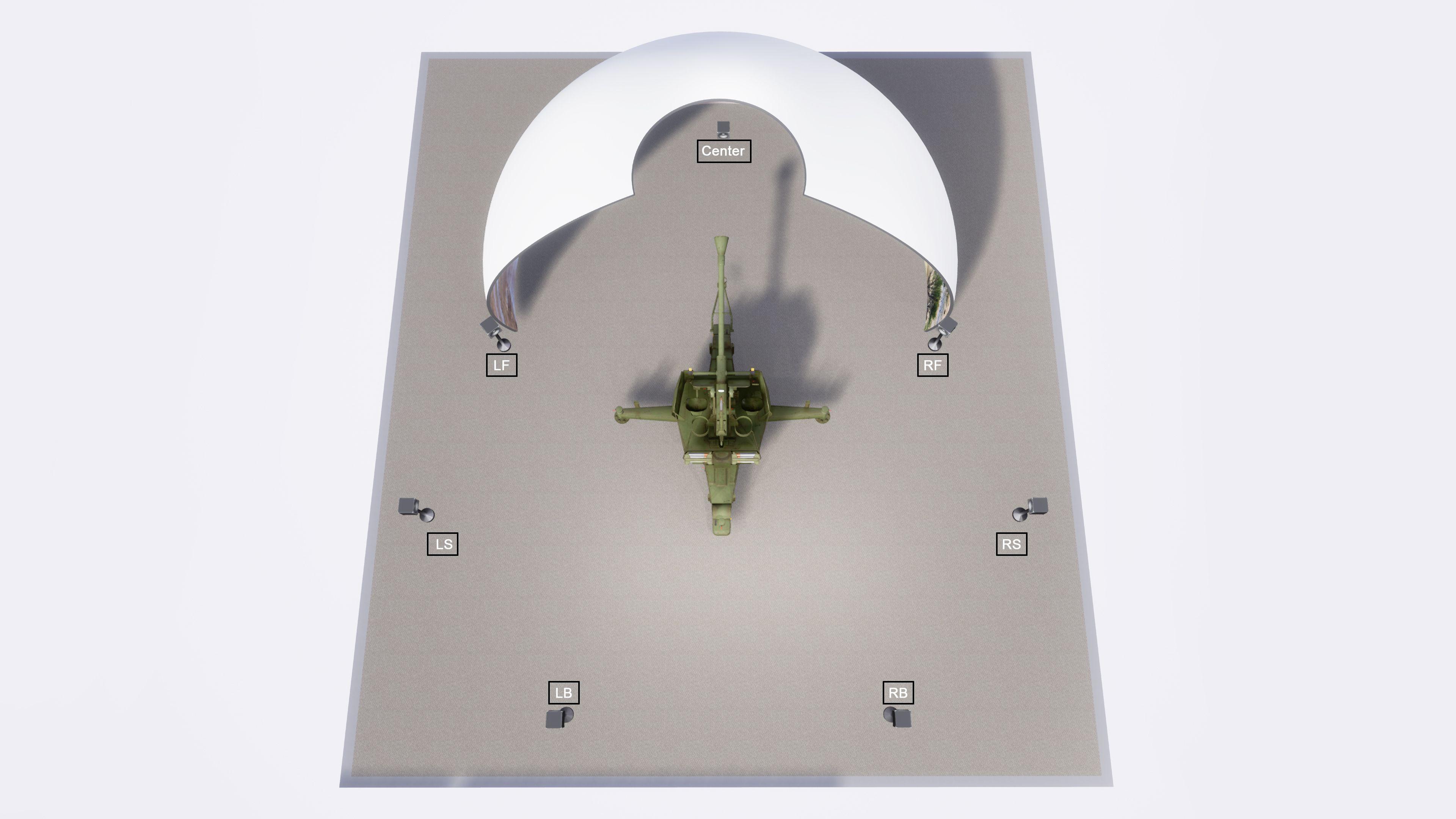 Zen IADCS Sound Simulation System