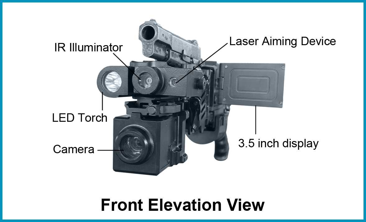 ShootEdge® (CornerShot) - ShootEdge® Front Elevation View