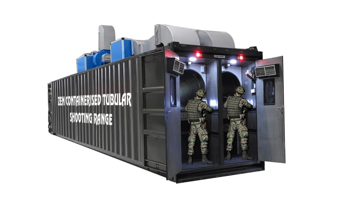 CTSR - Zen Containerized Tubular Shooting Range